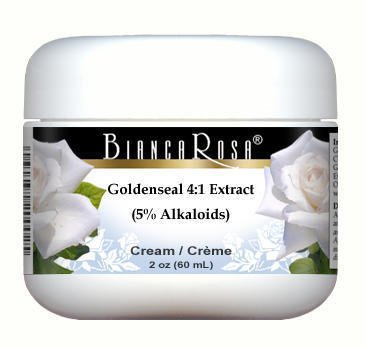 Extra Strength Goldenseal 4:1 Extract (5% Alkaloids) Cream (2 oz, ZIN: 514184)