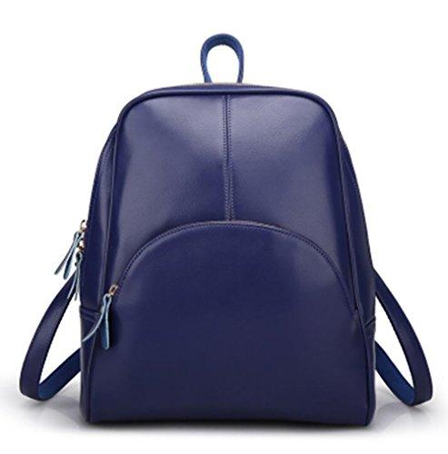 11 Sac cuir 27 32cm décontracté sac à en femmes main à mode de de souple dos sac PU multifonctionnel 8q81STr