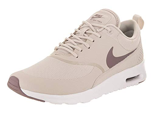 Nike Womens Air Max Thea PRM Low Top Lace Up Running Sneaker, Tan, Size 10.0