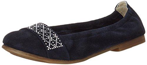 Lepi Mädchen 4383lel Pantoffeln Blau (art.4383 C.01 Blu)