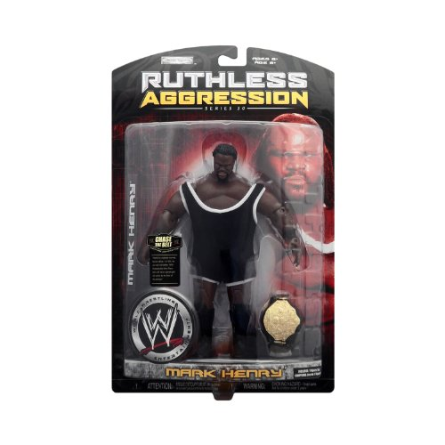 ss Aggression Series 30 Action Figure Mark Henry (Series Wwe Watch)