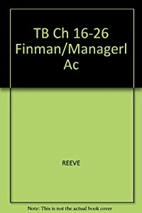 Misc. Supplies TB Ch 16-26 Finman/Managerl Ac Book