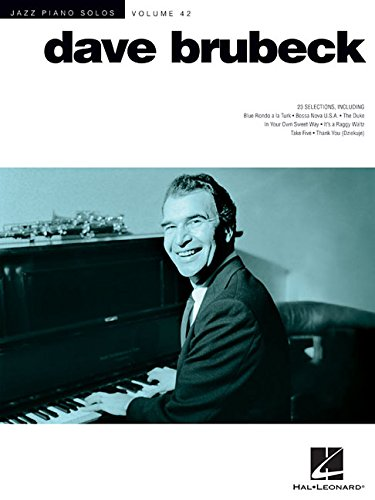 Dave Brubeck: Jazz Piano Solos Series Volume 42