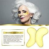 Jakuva 30 Pairs Collagen Gold Eye Masks Powder