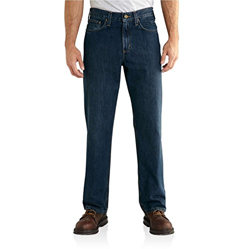 Carhartt Men's Relaxed Fit Holter Jean - 980-FRO - 42-28