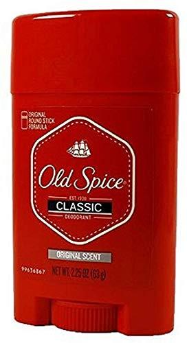 - Old Spice Classic Deodorant Stick Original Scent 2.25 ounces (Pack of 3)