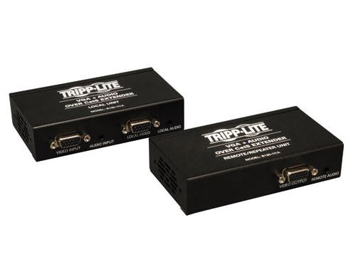 Tripp Lite VGA with Audio over Cat5 / Cat6 Extender, Transmitter and Repeater 1920x1440 at 60Hz(B130-111A)