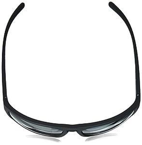 Arnette Men's Brapp Polarized Wrap Sunglasses, Matte Black, 62 mm