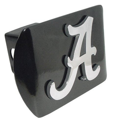 (University of Alabama Crimson Tide Black with Chrome Plated Metal
