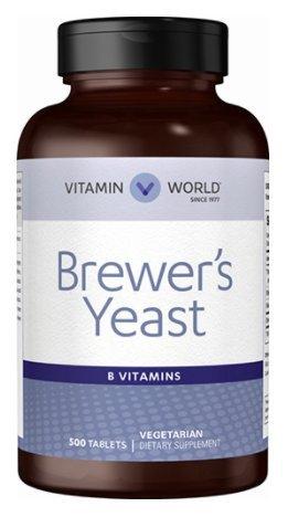 Vitamin World Brewer's Yeast 500 mg. by Vitamin World