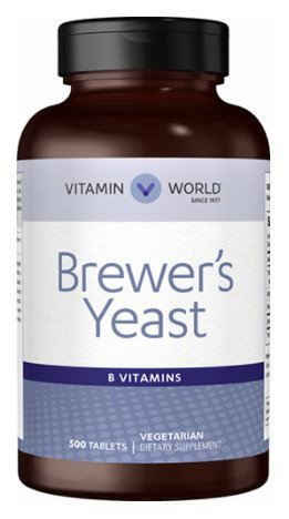 Vitamin World Brewer's Yeast 500 mg.