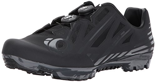Pearl Izumi X-Project Pro Cycling-Footwear, Black/Shadow Grey, 42 EU/8.5 D US