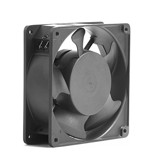 1238 Axial Fan AC 110V Cooling Fan,Muffin Fan Two Guards 4-Feet Power Cord DIY Cooling Ventilation Exhaust Projects by seventeck (Image #2)