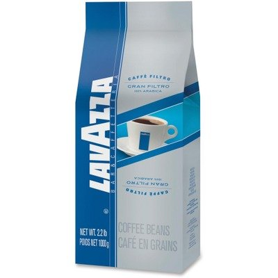 Lavazza 2410 Gran Filtro Italian Light Roast Coffee, Arabica LAV2410