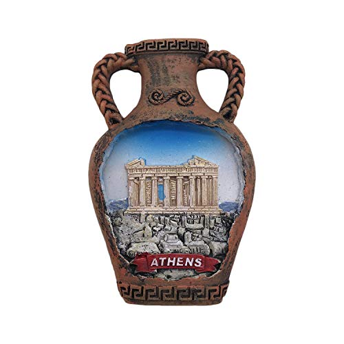 Athens Greece 3D Refrigerator Magnet Tourist Souvenirs Resin Magnetic Stickers Fridge Magnet Home & Kitchen Decoration from China