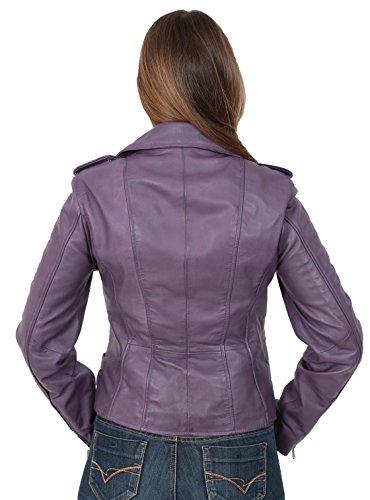 Manches Longues Femme Fashion Violet Blouson A1 Goods OwZZxC