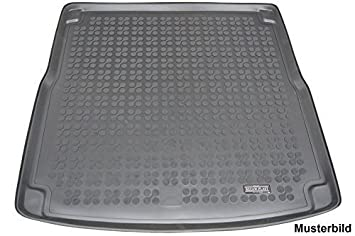 with Raised Boot Floor Gledring GLED-BL-1036 Custom Tailored Fit Black All Weather Rubber Boot Liner