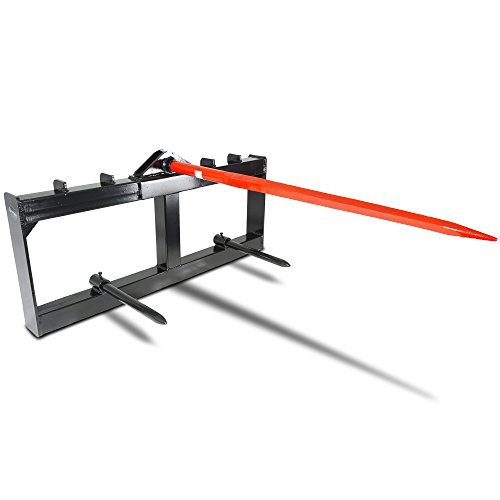 Titan Attachments Tractor Hay Spear Attachment 3,000 lb