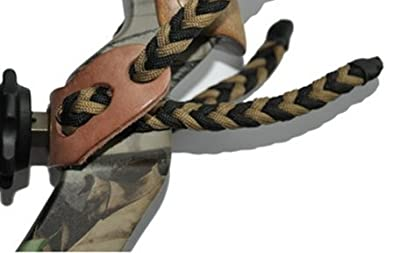 Braided Bow Sling for a Compound Bow