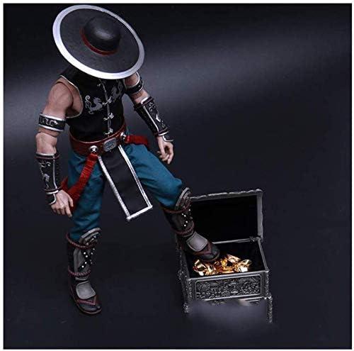 A ZSMD 1//6 Doll Dress Up Props Modelo Pirates Alloy Schatzkiste SchatzkisteGeeignet para Anzieh HT VERYCOOL TTL Phicen TBLeague