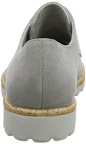 Tamaris Zapatos Para Cloud Gris Mujer de Cordones Oxford 23208 rAxa5Xqr