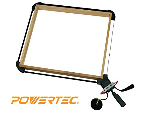 POWERTEC 71017 Quick Release Band Clamp | Woodworking Frame Clamping