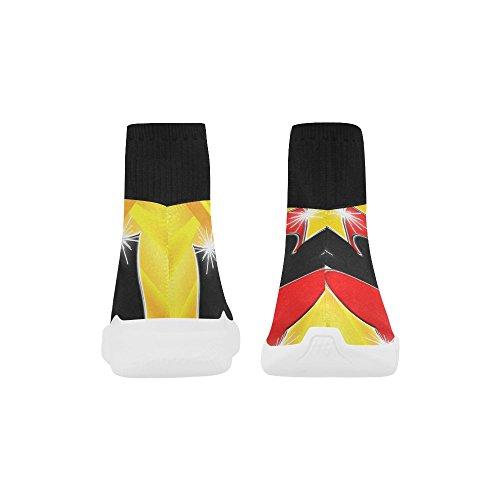 Leinterest Trajes De Naipes Unicorn Stretch Sock Zapatos Para Mujeres