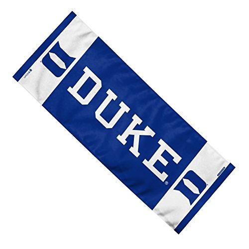 NCAA Duke Blue Devils Team EnduraCool Microfiber Towel, 12 x 30 Inch