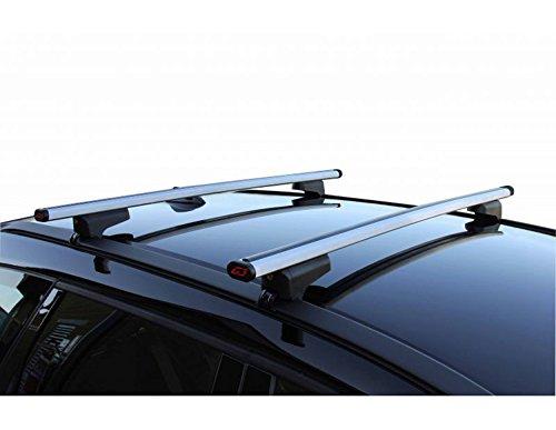Barre PORTATUTTO in Alluminio Modello CLOP per Auto con Railing INTEGRATI Box da Tetto Reef 580 G3 ME99H21+AZ03060030