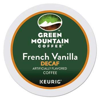 (Green Mountain Coffee French Vanilla Decaf Keurig Single-Serve K-Cup Pods, Light Roast Coffee, 24 Count)