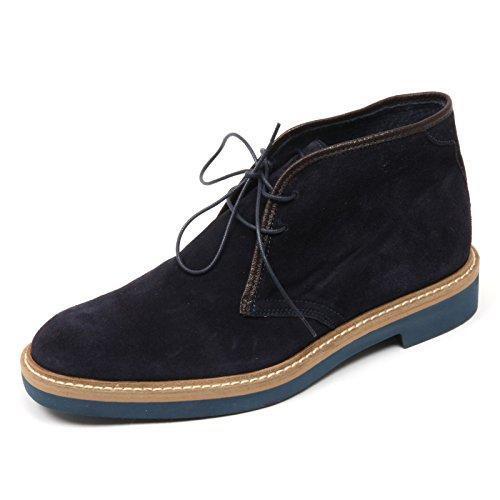 Gold Brothers C3712 Polacchino Uomo Scarpa Blu Boot Shoe Man [41]