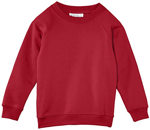 3 X Girls Boys Jumper Sweatshirt Crew Round//V Neck  School Uniform Ages 5-13