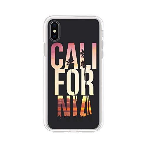 Los Angeles iPhone case Los Angeles case 8 plus 7 X XR XS Max 6 6s 5 5s se s art print hard plastic transparent silicone California