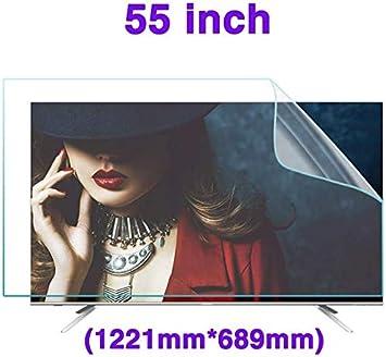 DPPAN 55 Pulgadas Antirreflejos TV Protección de Pantalla para Televisor, LED Ultra Claro Anti Luz Azul Screen Protector, LCD Protección Ojos Película Protectora,B: Amazon.es: Electrónica