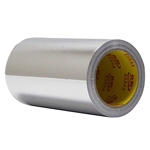 Aluminum Foil Tape, 0.18mm Thickness 22 Yards Length, 4.0 mil High Temp Heat-Resistant Foiled Tape Rolls for HVAC Repair, Ducts, Insulation, Dryers, Jewelry Making & Crafts (0.18MM, 8 INCHx22YARD) by MENG ZHI AO
