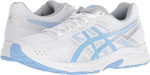 ASICS Women's Contend 4 White Bluebell 9.5 B(M) US