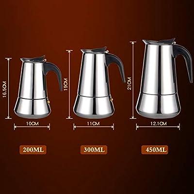 YoZhanhua Cafetera de espresso para hacer café expreso, cafetera ...