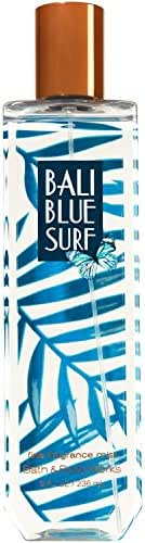 Bath and Body Works Bali Blue Surf Body Fragrance Mist 8 Ounce Full Size Tropical Spray