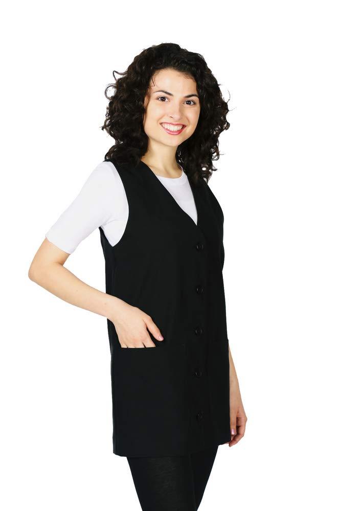Smockers Ronny Professional Salon Vest Stylist Vest Cosmetology Uniform