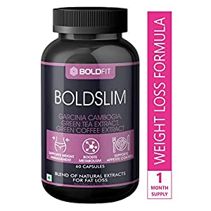 Boldfit Weight Loss Pills For Women and men – Fat Burner, Diet Pills, garcinia combogia keto for weight loss capsules