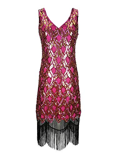Deco 1920 Gatsby Downtown Charleston Cocktail Flapper Inspired Dresses Costumes -