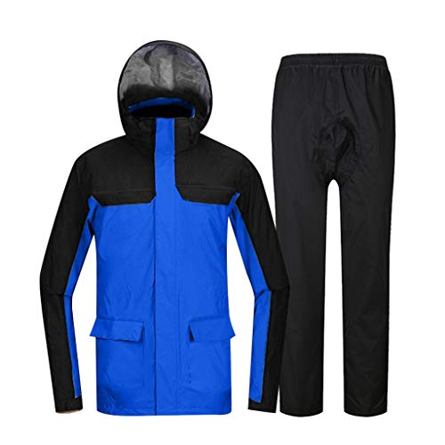 LAXF-Rain Suit Sports Rain Suit Waterproof Rain Jacket Cycling Rainwear Fishing Raincoats Outdoor Premium Quality Durability for Traveling All Wet Weather