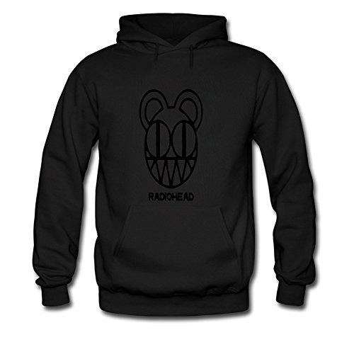 Tango87ammaki Men's Radiohead Bear Sweatshirt Hoodie