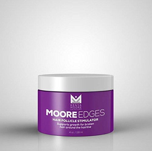 Amazon Com Kenya Moore Haircare Moore Edges Hair Follicle Stimulator Beauty