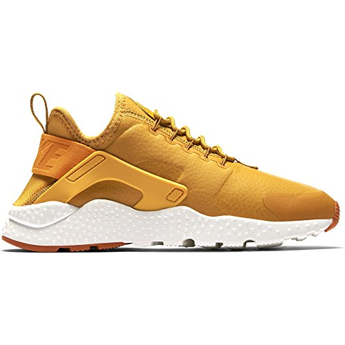Nike Womens Huarache Run Ultra PRM Running Trainers 859511 Sneakers Shoes (US 7.5, Gold Leaf Sunset sail 700)