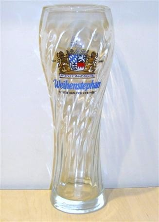 Weihenstephan German Weiss Signature Beer Glass Rare 0.3L New (Beer Rare)