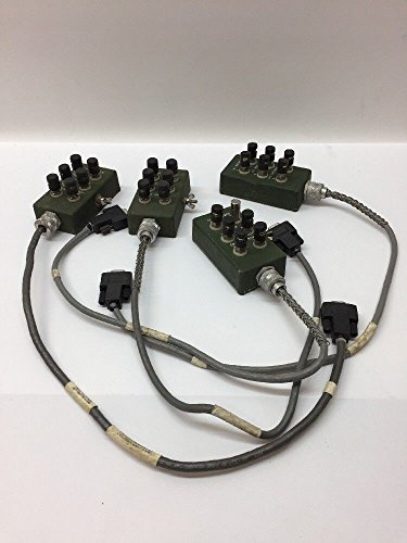 Ducommun Labarge Tech. Special Purpose Cable Assembly (Lot of 4) 50773-1 Hmmwv