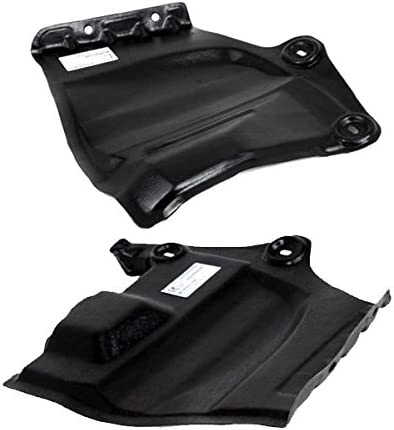 Koolzap For 11-17 Quest Front Engine Splash Shield Under Cover Left Right Side PAIR SET