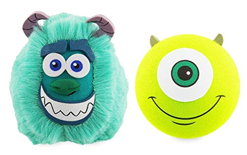 Disney Parks Exclusive Sulley and Mike Wazowski Antenna Topper Set - Monsters, Inc. ()