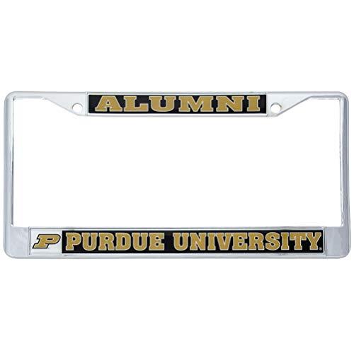 (Desert Cactus Purdue University Boilermakers Metal License Plate Frame for Front Back of Car Officially Licensed (Alumni))